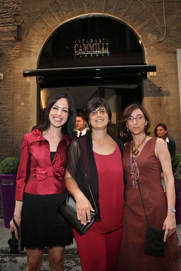 Alessia Frilli, Alessandra Orsini e Simona Bindi