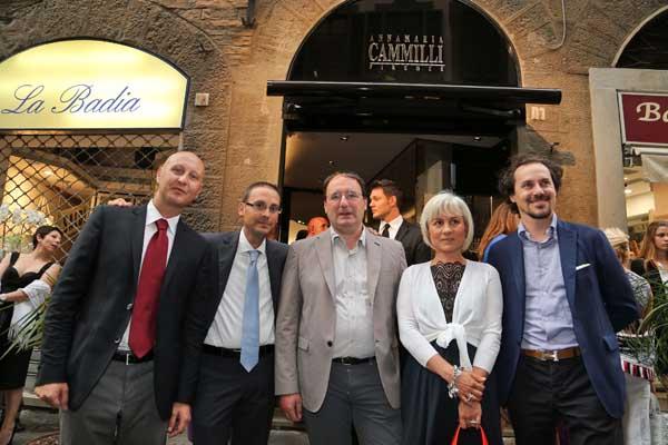 Dario Di Donato, Simone Cugnach,Luca Boiardi, Monica Cioni e Giovanni Chini