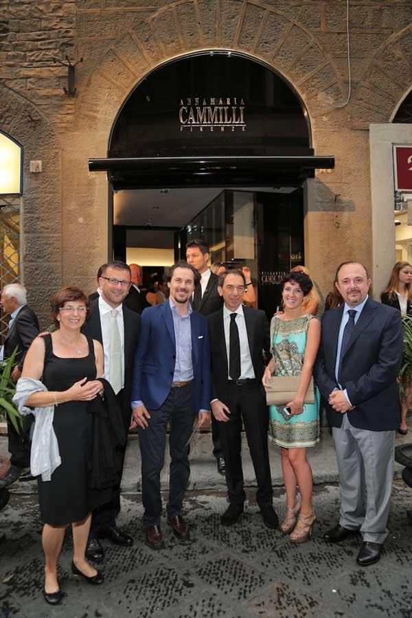 Anna Allois, Daniele Tagliapietra, Roberto Allois, Marta e Mauro Guasco e Giovanni Chini