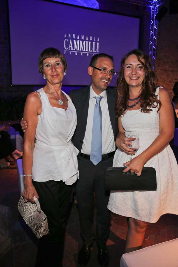 Simone Cugnach con Alfreda Ghelarducci e Oana Viviani