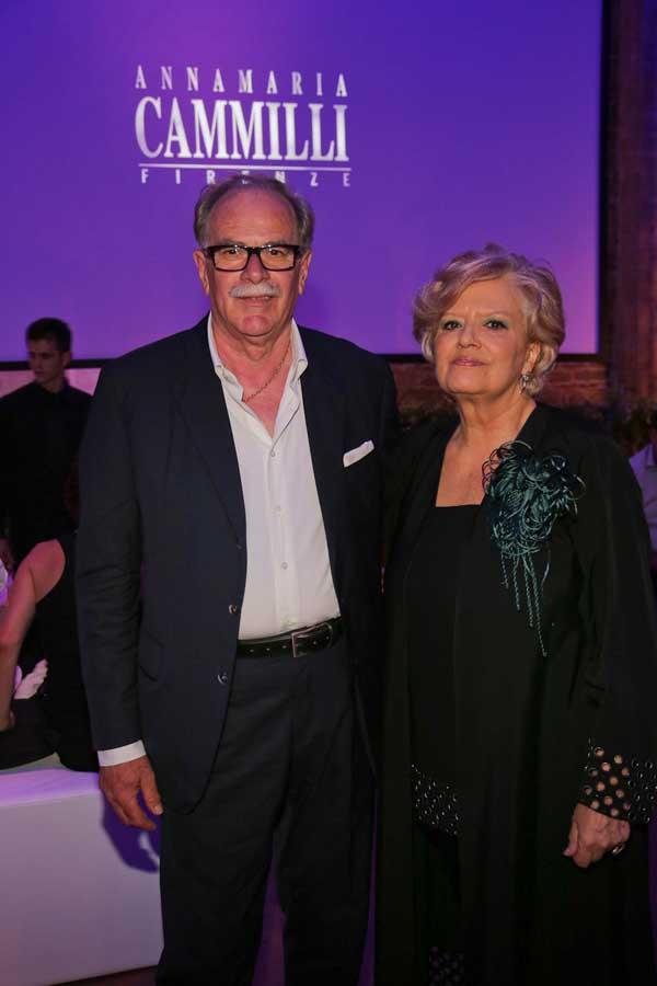Annamaria Cammilli and Alessandro Calvelli