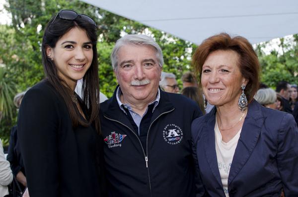 Caterina, Giulio e Laura Noccioli
