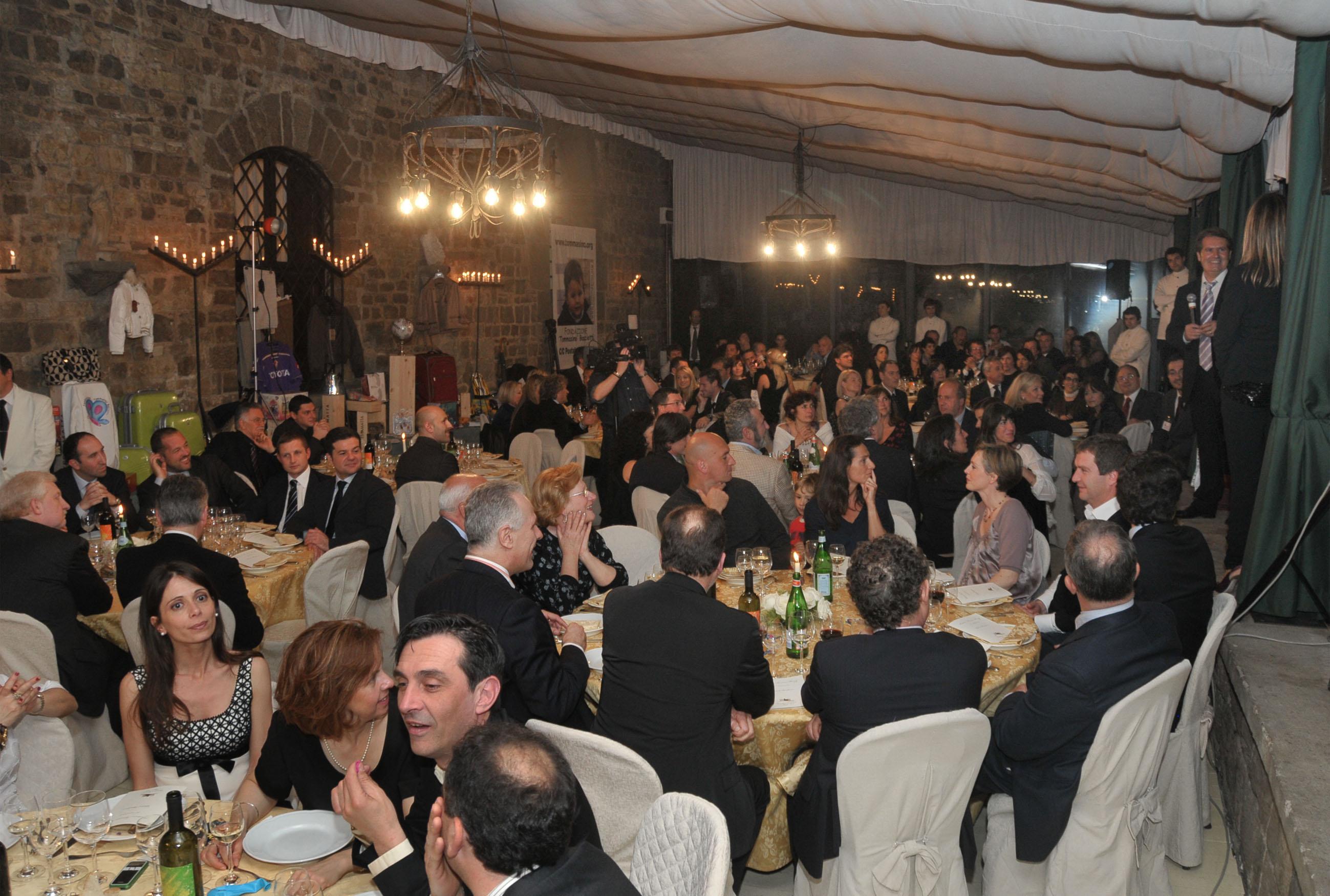 Cena fondazione Tommasino Bacciotti