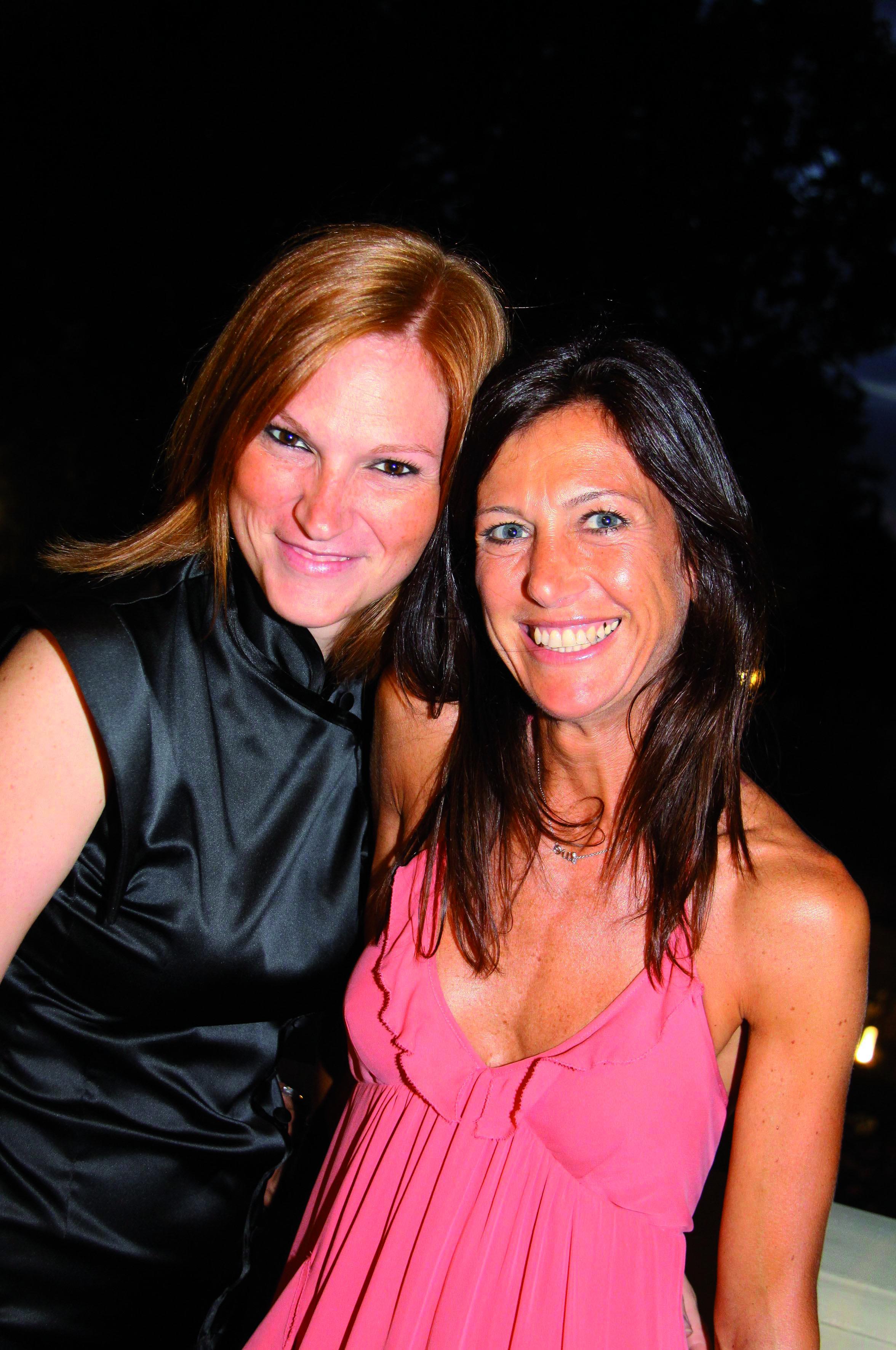 pressphoto,firenze Villa Cora serata  Chanel nella foto Tatiana Giorgi,Mariella Ciampini