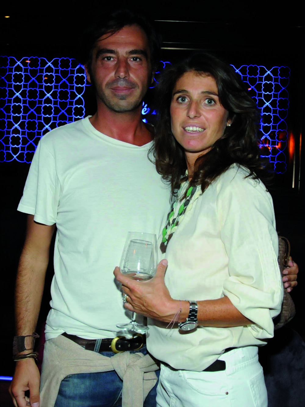 Pressphoto,Firenze Magazine Inaugurazione ristorante colle Bereto    NiccolÚ testi, Benedetta Golini