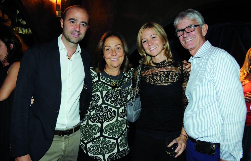 Pressphoto,Firenze Magazine Inaugurazione ristorante colle Bereto  Leonardo, Franca, Francesca, Lorenzo Pinzauti