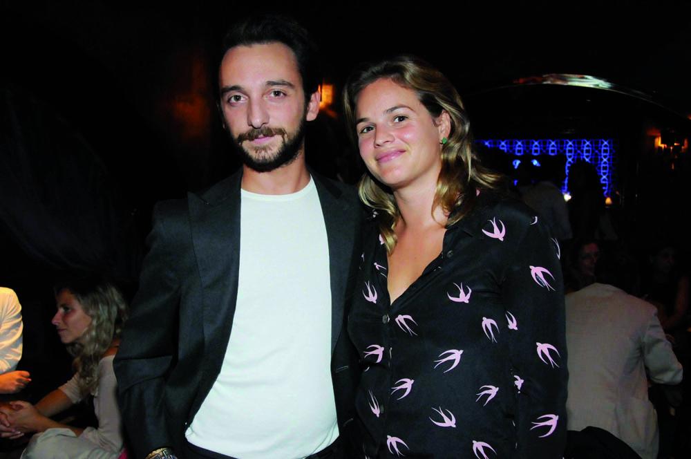 Pressphoto,Firenze Magazine Inaugurazione ristorante colle Bereto  Jacopo Durazzani, Camilla Benedetti