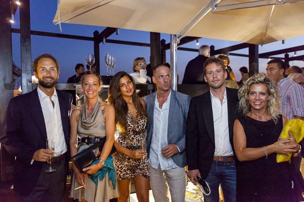 Vettor Marcello del Majno, Chiara Visconti, Lorenzo Visconti, Giuseppe Pittarello, Micaela Scapin