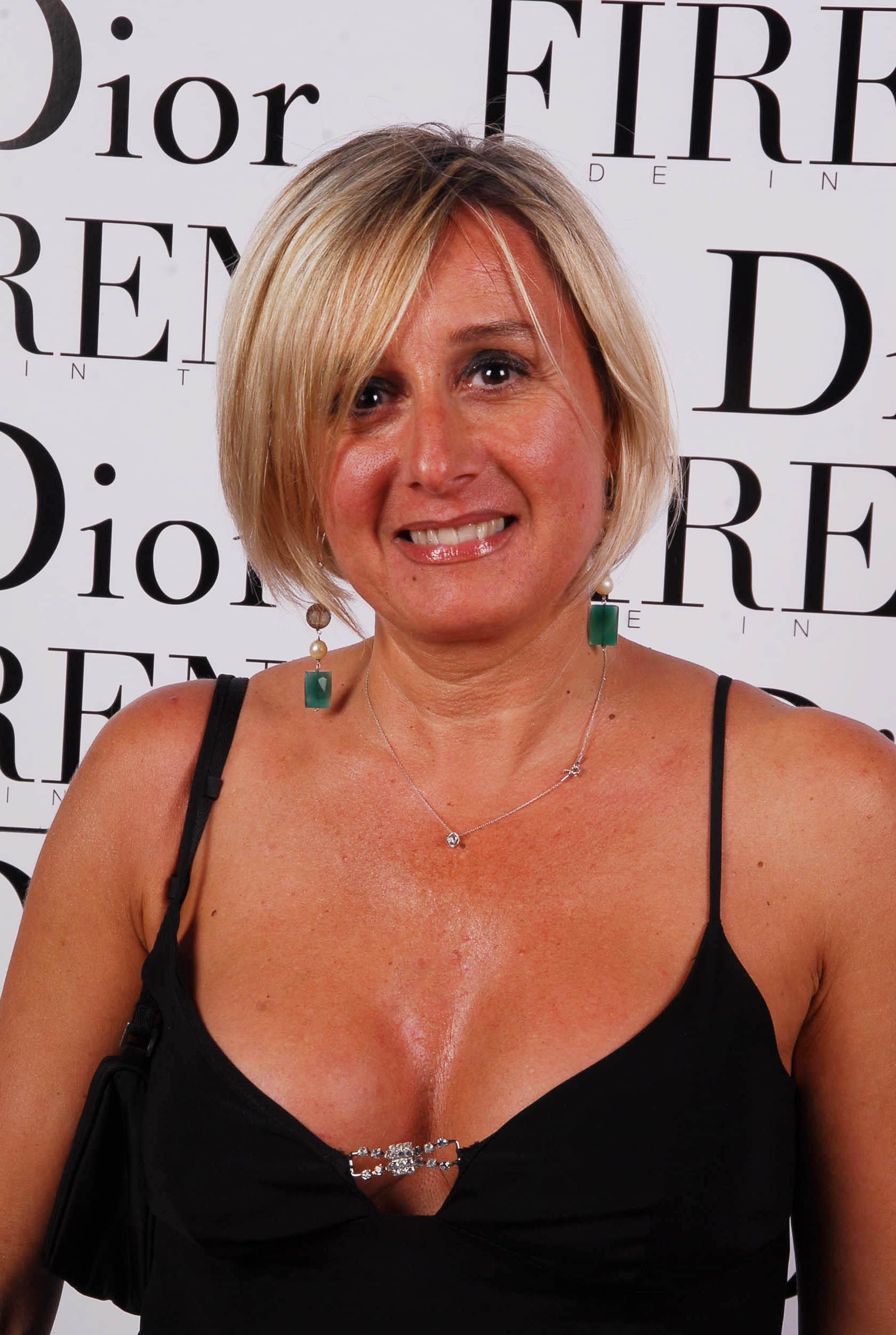 PRESSPHOTO  Firenze, evento Dior al teatro romano di Fiesole. Nella foto Monica Redi