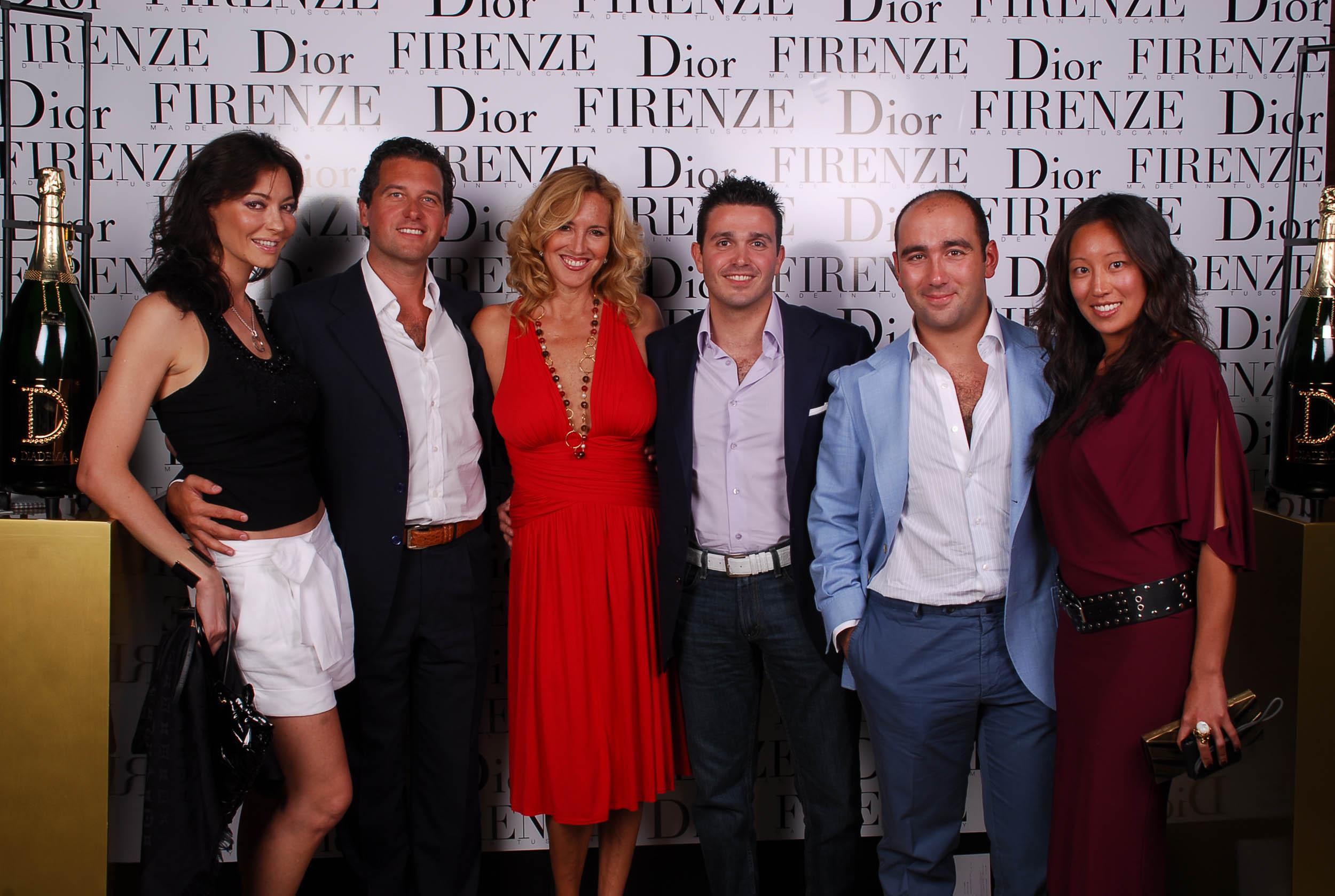 PRESSPHOTO  Firenze, evento Dior al teatro romano di Fiesole. Nella foto Ricci