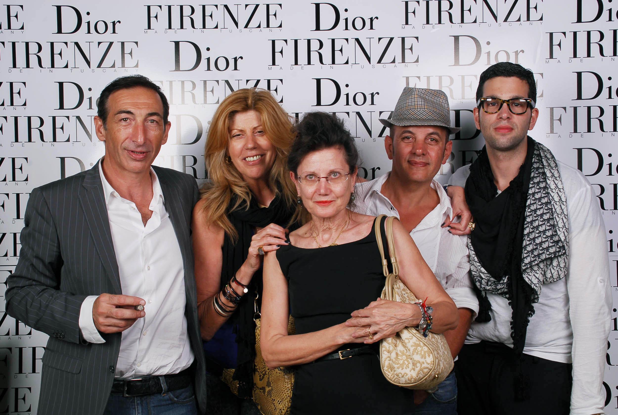 PRESSPHOTO  Firenze, evento Dior al teatro romano di Fiesole. Nella foto