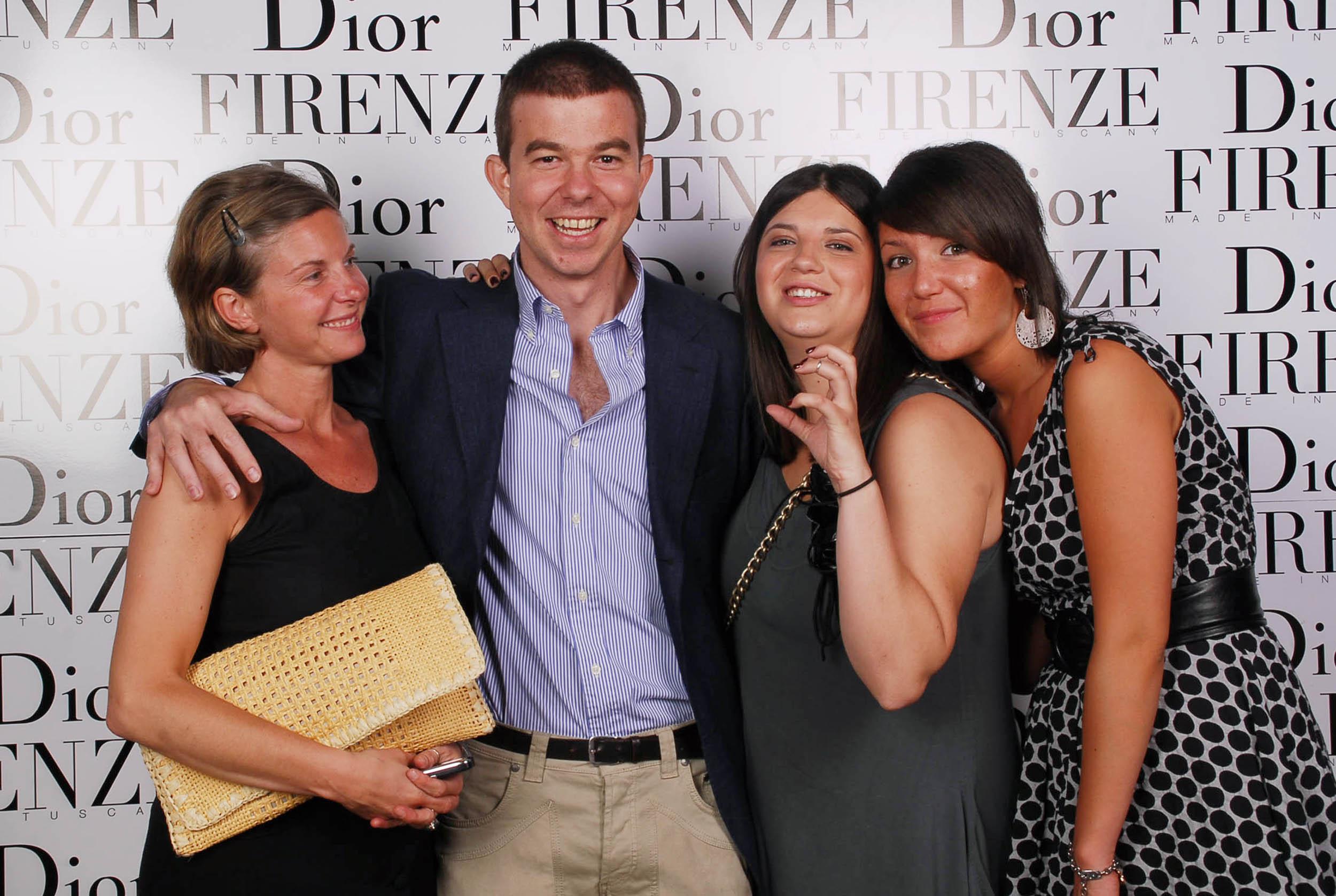 PRESSPHOTO  Firenze, evento Dior al teatro romano di Fiesole.