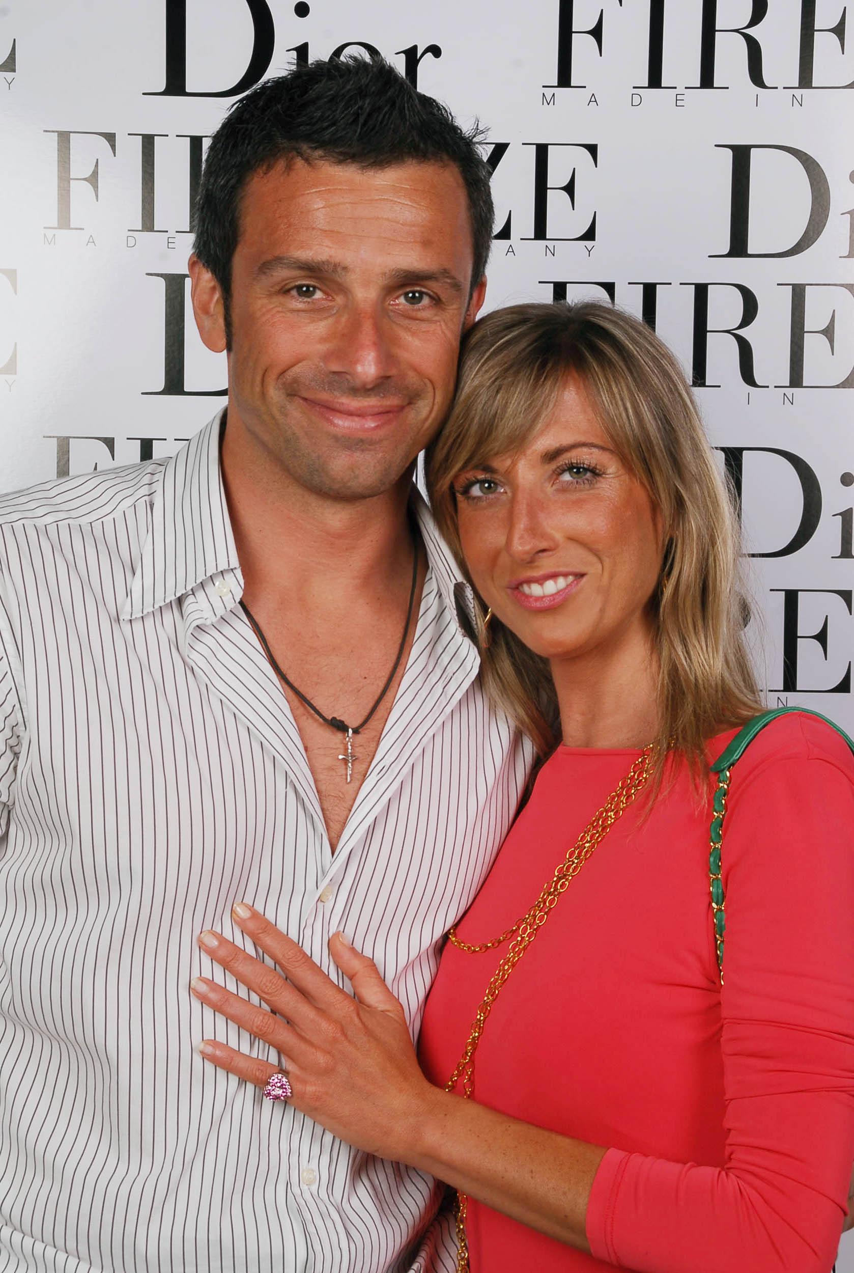 PRESSPHOTO  Firenze, evento Dior al teatro romano di Fiesole. Nella foto Gaia Serri e Stefano Bosia