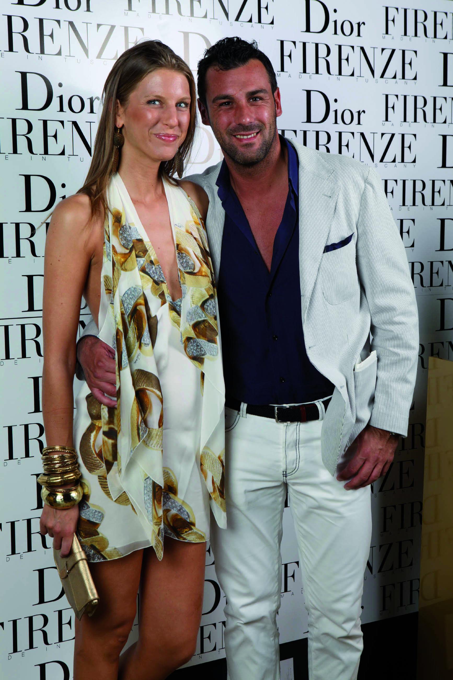 PRESSPHOTO. Fiesole, sfilata Dior. Nella foto Michela Sostegni e Alessio Fracassini