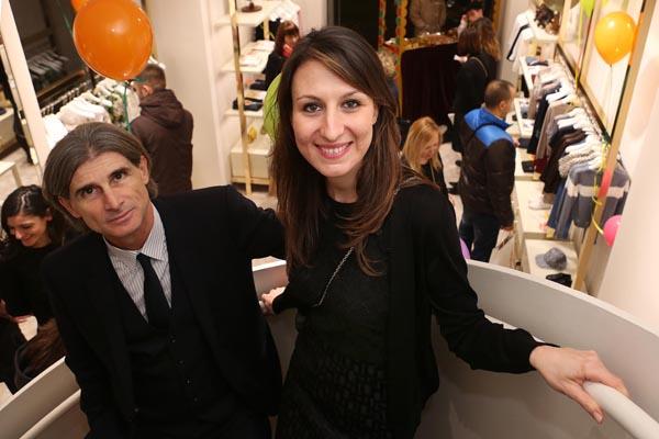 Nancy Marcucci e Gianni Musetti