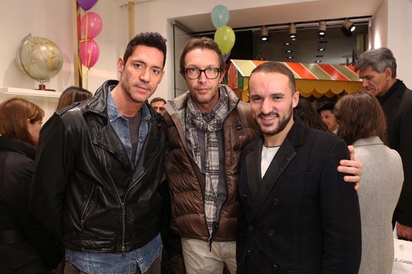 Emilio Pompeo, Gianluca Bonocchi e Andrea Caravita