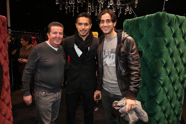 Gianfranco Monti, Manuel Vargas, Alberto Aquilani