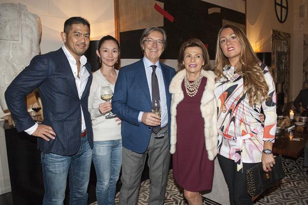 Kazuiro e Kyoko Ohashi, Paolo e Annamaria Vranjes, Beatrice Frandi
