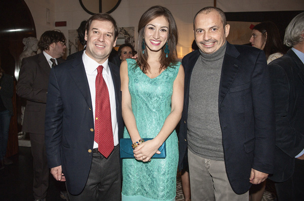 Guglielmo and Vittoria Giovannelli Marconi, Costanzo De Angelis