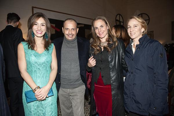 Vittoria Giovannelli Marconi, Costanzo De Angelis, Lorena Adler, Diana Cosmelli