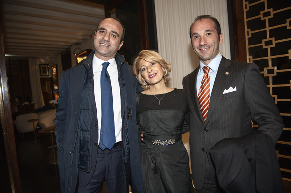 Matteo Loverso, Paola Paciotti, Bruno Papaleo