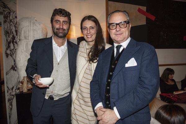 Riccardo Russo, Sara Lucci, Saverio Ferragina