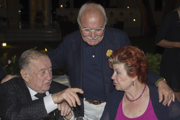Sirio Maccioni, Gianni Mercatali, Annie Feolde