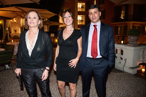 Letizia Melani, Alessandra Pistillo, Eduardo Giordanelli