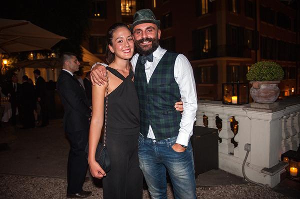 Matteo Alessandrini, Anna Scordari
