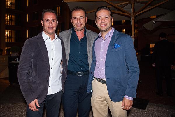 Samuel Porreca, Marco Laureana, Luca Costanzi