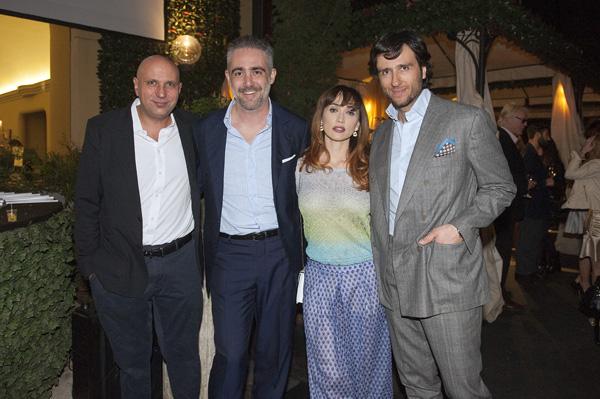 Francesco Cinquemani, Matteo Parigi Bini, Chiara Francini, Alex Vittorio Lana