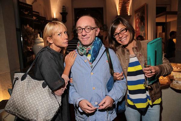 Elena Moretti, Antonio Cristaudo e Francesca Calonaci