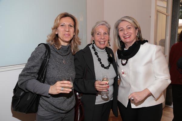 Tatiana and Christa D'Inzeo, Annalisa Caparelli