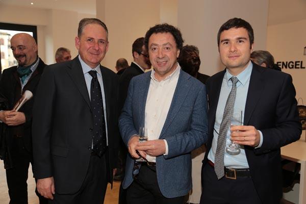 Carlo Bigongiari, Winfried Mauthner, Marcello Zeppi