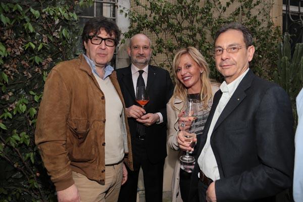 Ugo Bolla, Alessandro Naldini, Fulvia Casamonti, Marco Baglioni