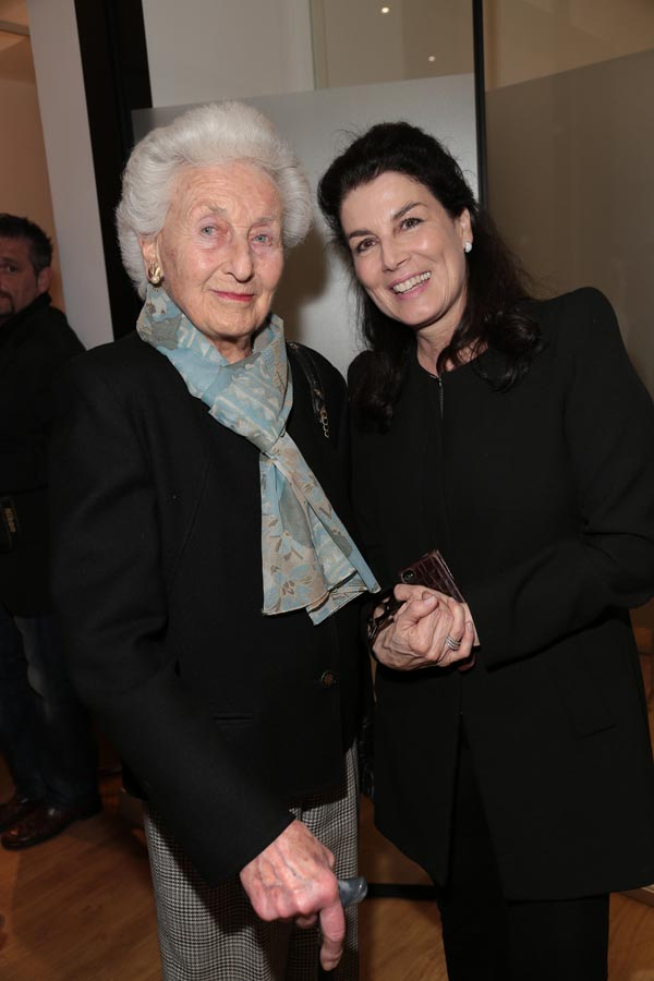 Manuela Novatelli and Bettina Prinzessin Wittgenstein
