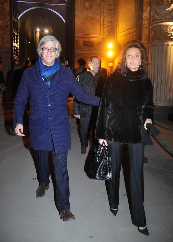 Sandro and Antonella Fratini
