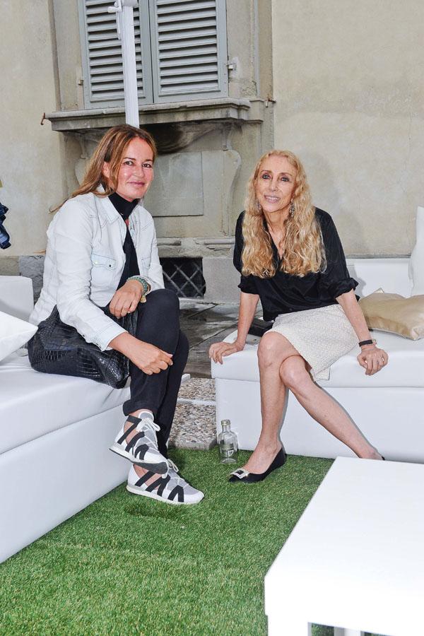 Eva Cavalli, Franca Sozzani