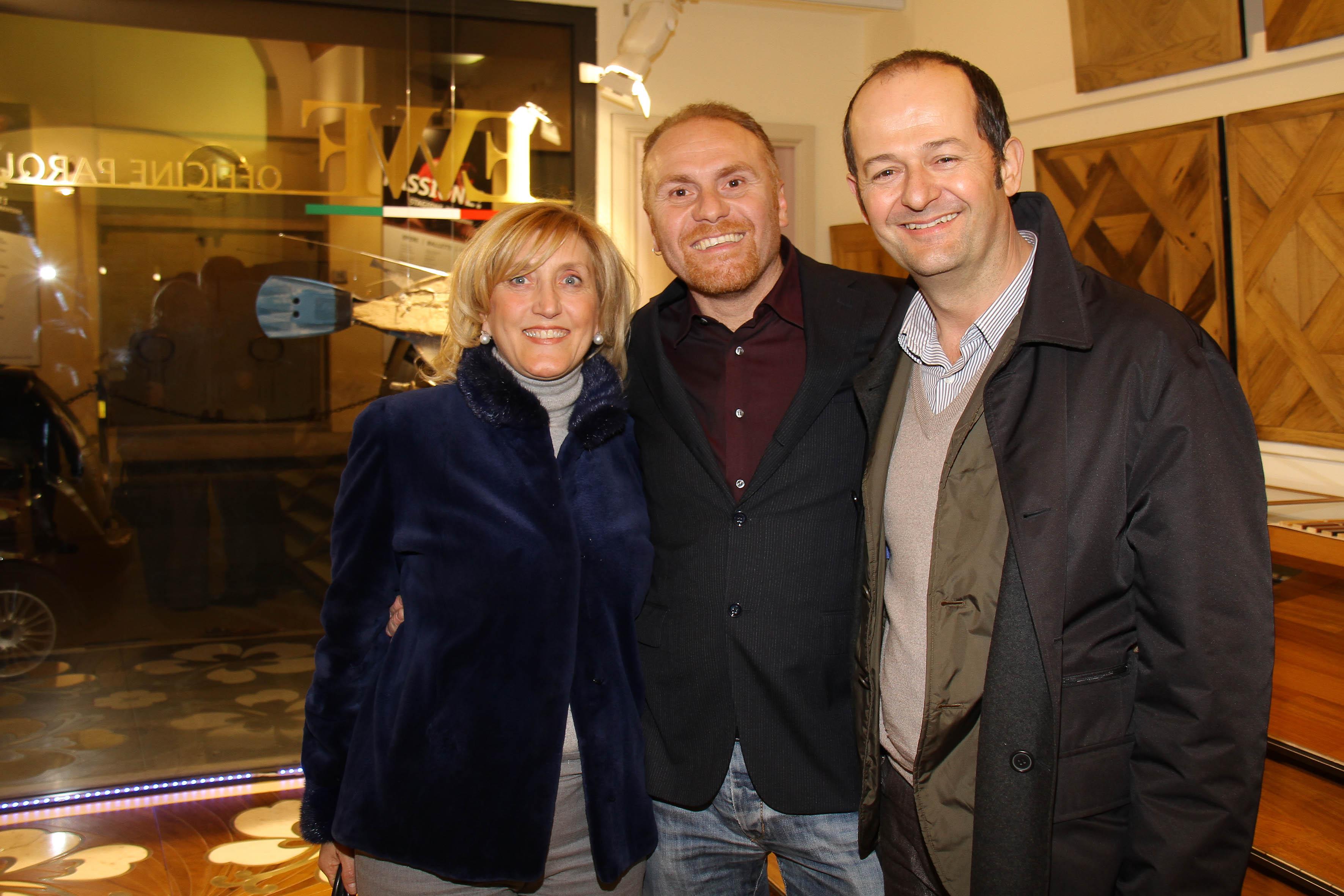 PRESSPHOTO Firenze, EWF Officine Parquet. Nella foto Carla Cadario, Niccolò Grassi e Samuele Calvisi
