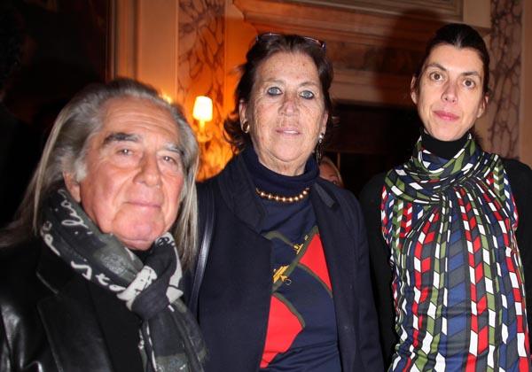 Fabrizio Plessi, Roberta Di Camerino, La Figlia Tessa, Giuliana Caprioglio