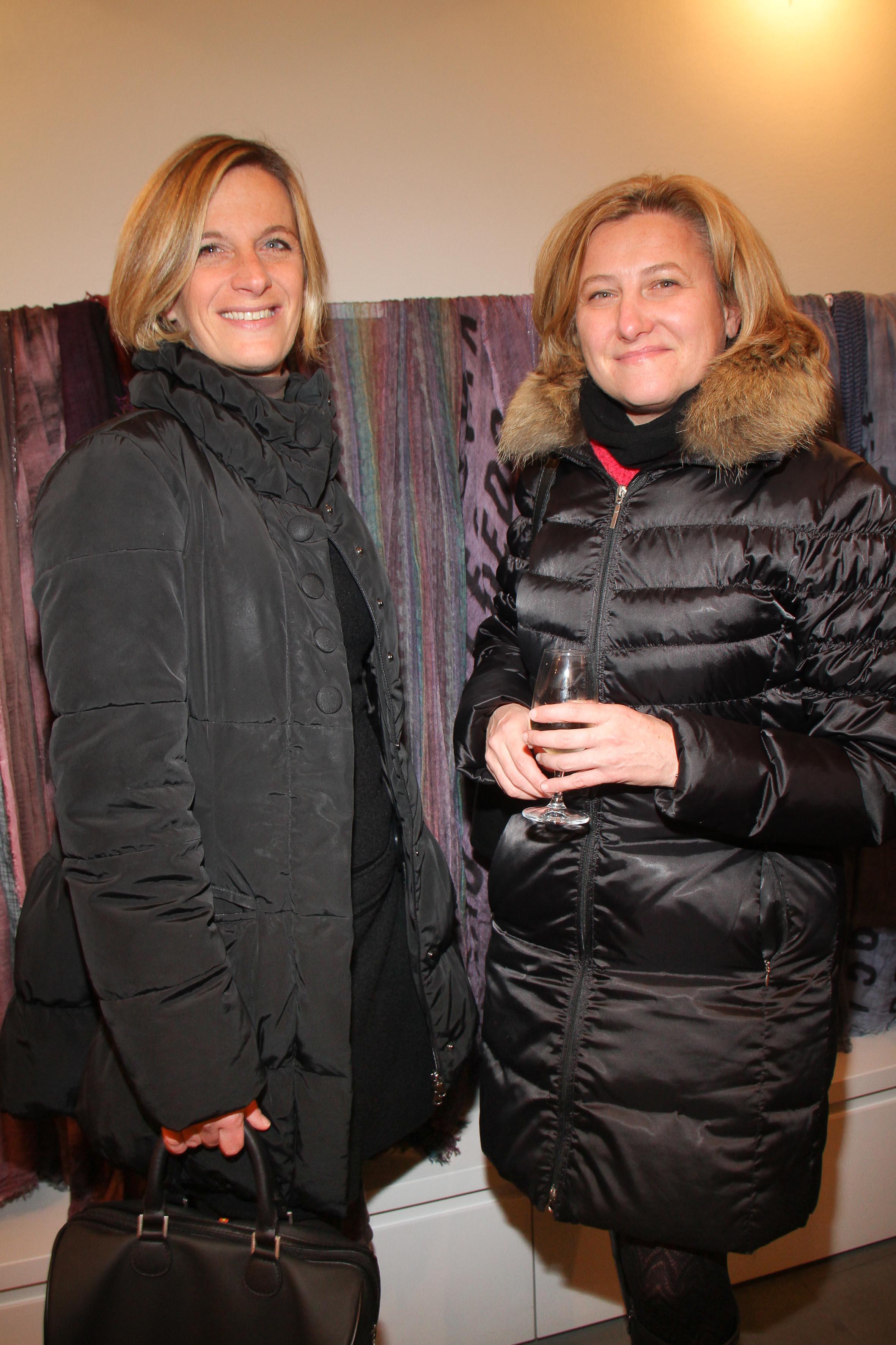PRESSPHOTO Firenze, Faliero Sarti. Nella foto Chiara Martelli e Patrizia Riccitelli  Giuseppe cabras/new pressphoto
