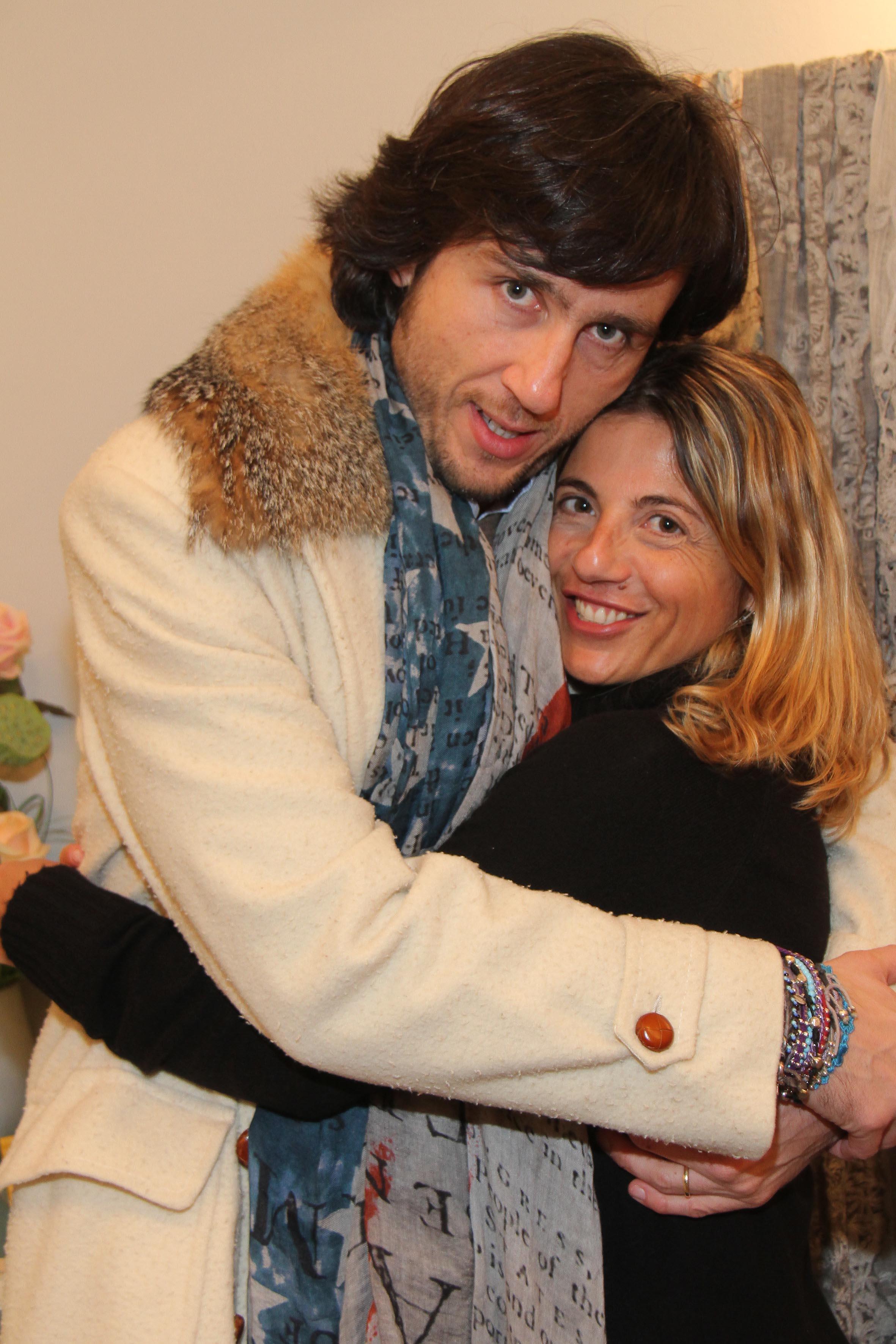 PRESSPHOTO Firenze, Faliero Sarti. Nella foto Monica Sarti con Alex Lana  Giuseppe cabras/new pressphoto