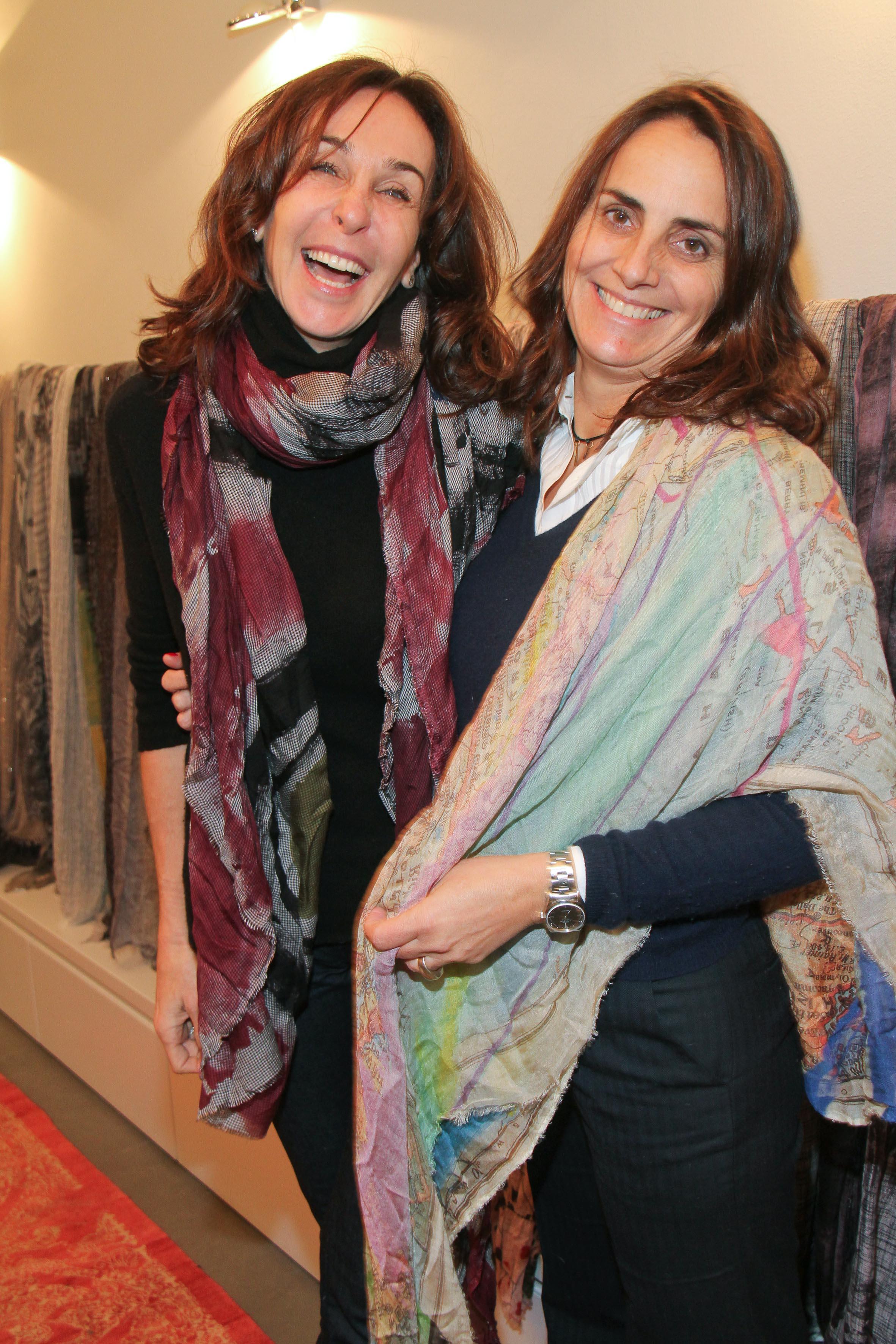 PRESSPHOTO Firenze, Faliero Sarti. Nella foto Silvia Orsi Bertolini e Bianca Orlando  Giuseppe cabras/new pressphoto