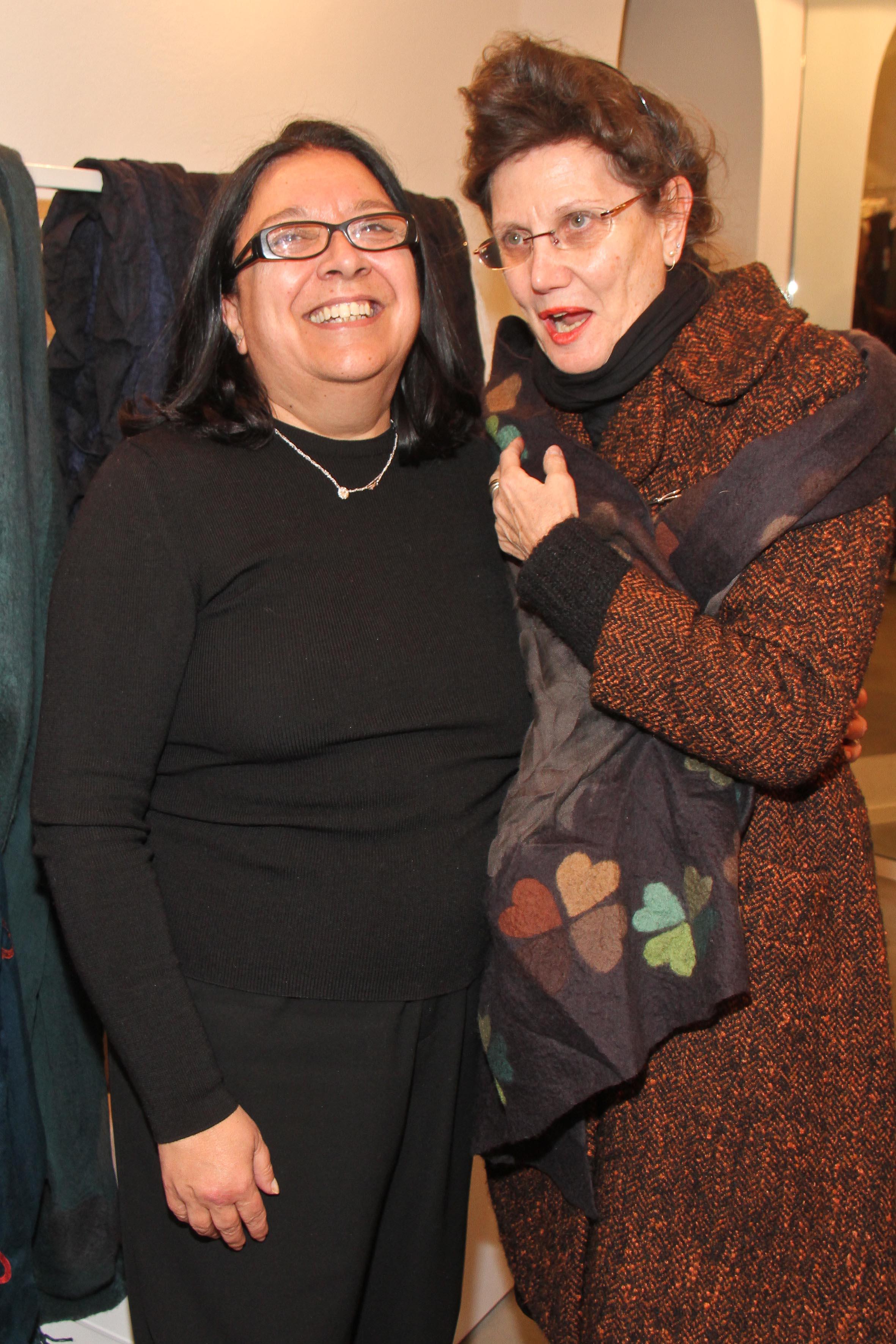 PRESSPHOTO Firenze, Faliero Sarti. Nella foto Sylvie Bonas e Marta Innocenti Ciuni  Giuseppe cabras/new pressphoto