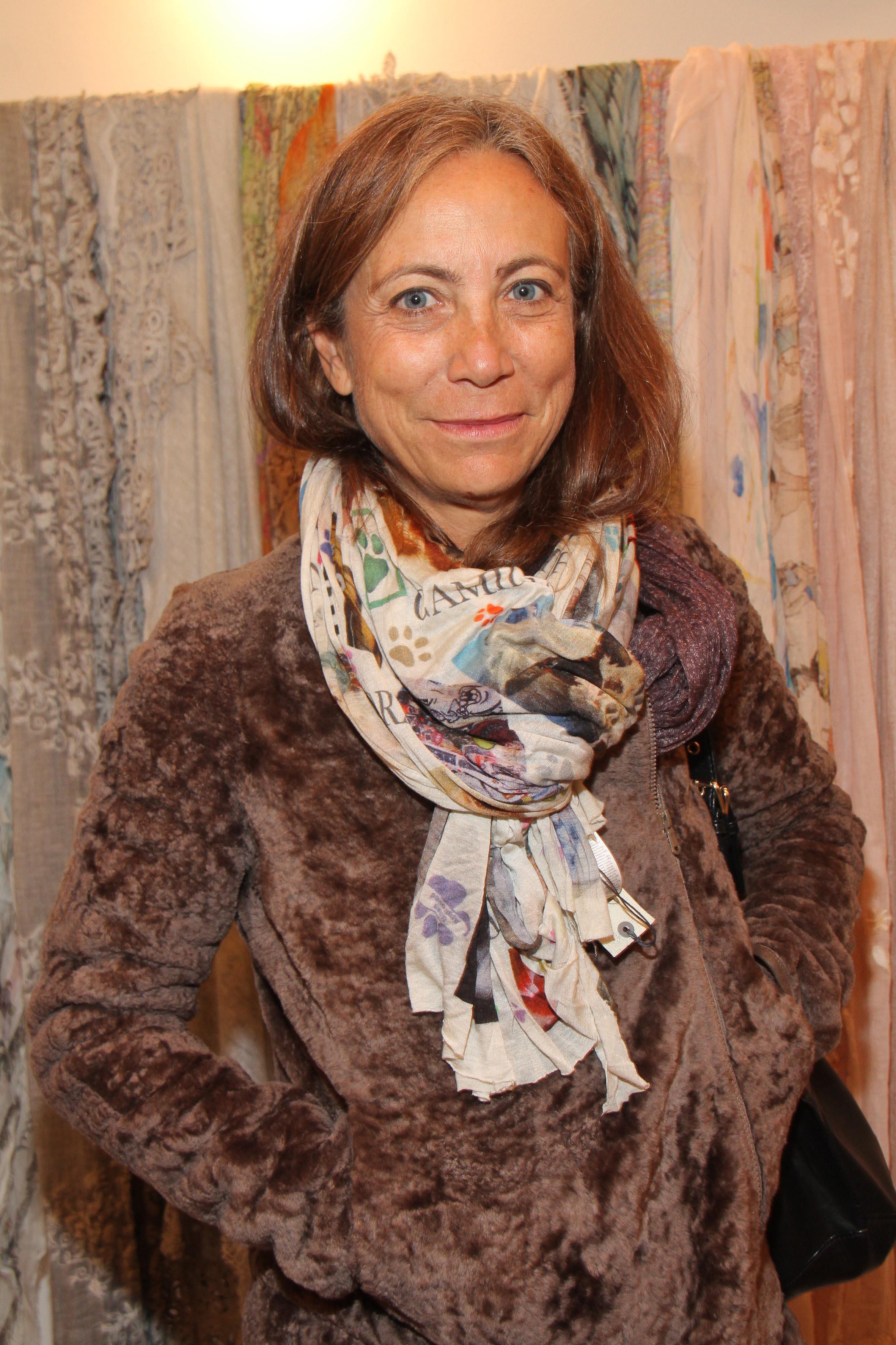 PRESSPHOTO Firenze, Faliero Sarti. Nella foto la giornalista Cinzia Malvini  Giuseppe cabras/new pressphoto