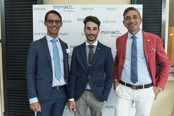 Fausto Giumetti, Alessio Trentin, Emilio Mansi