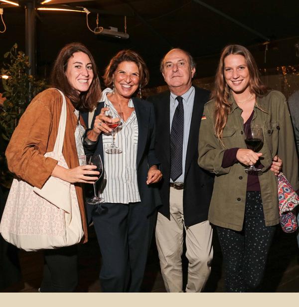 Federica Giusti, Cristina Pignotti, Mario Luca Giusti, Ludovica Quaratesi