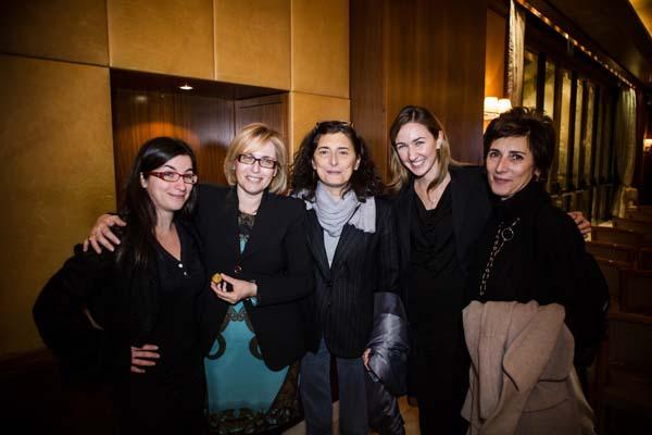Federica Lauriana, Alessandra De Nitto, Anna Martino, Francesca and Carla Sammartino