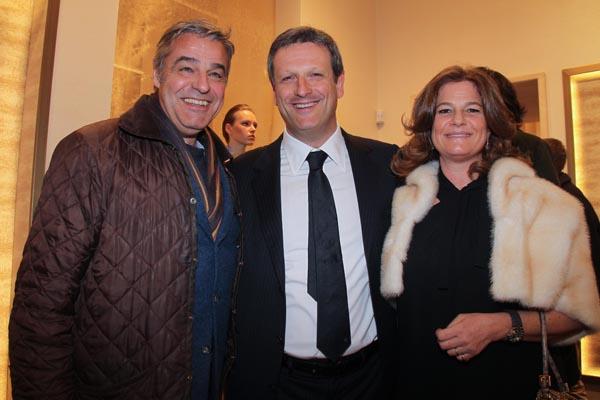 Alberto e Cristiana Da Passano, Marcello Carbone