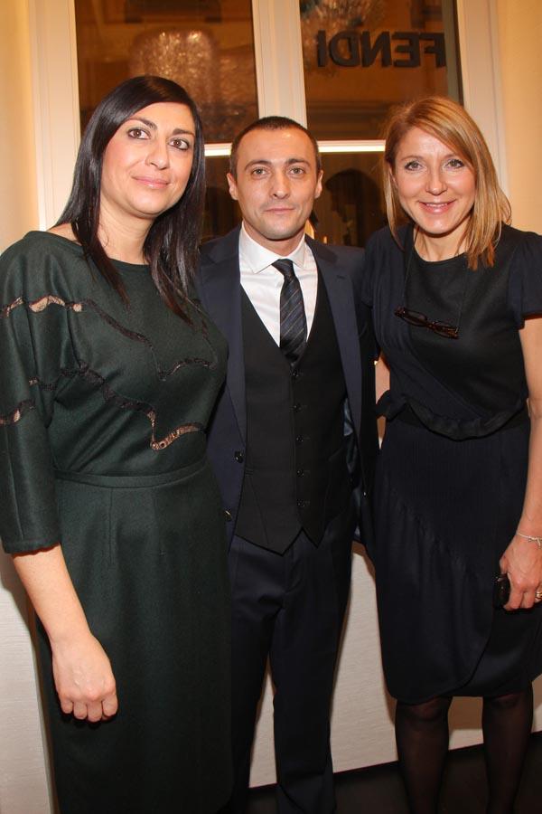 Rachele Mori, Alberto Vitti, Laura Farese